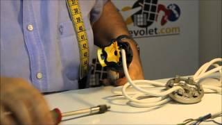 N° 3 Démontage & identification du moteur Somfy en conservant le câble d'origine