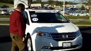 Used 2011 Honda Odyssey Touring Elite for sale at Honda Cars of Bellevue...an Omaha Honda Dealer!