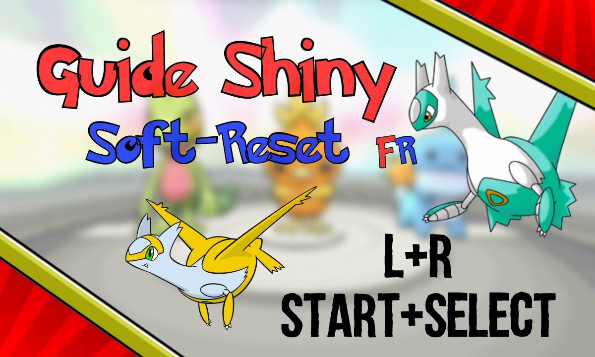 Pokemon rosa comment trouver un starter ou un legendaire shiny guide fr youtube - Legendaire shiney ...