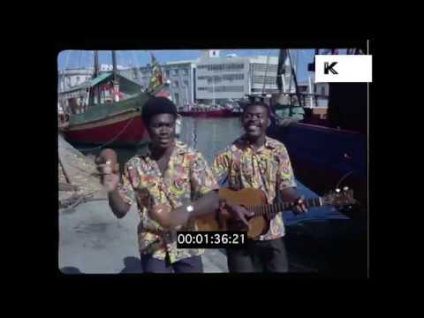 1960s Caribbean Buskers, HD from 35mm | Kinolibrary