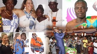 Patapaa set to marry his white girlfriend   Sofo Kyiriabosom replies critics over consultation fee