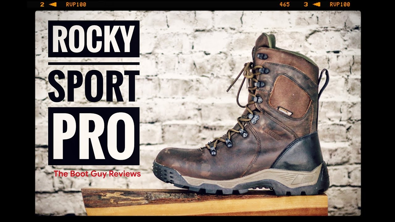 Rocky Sport Pro Insulated [ The Boot