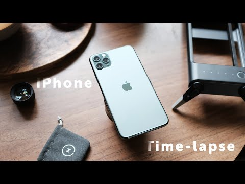 How To Shoot Great IPhone Time-Lapses   TEAM VLOG