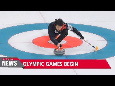 PyeongChang 2018 events start with mixed doubles curling