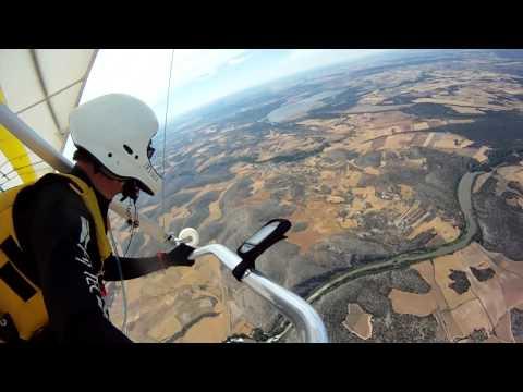 Ala Delta - Mi primer vuelo de cross - Hang gliding