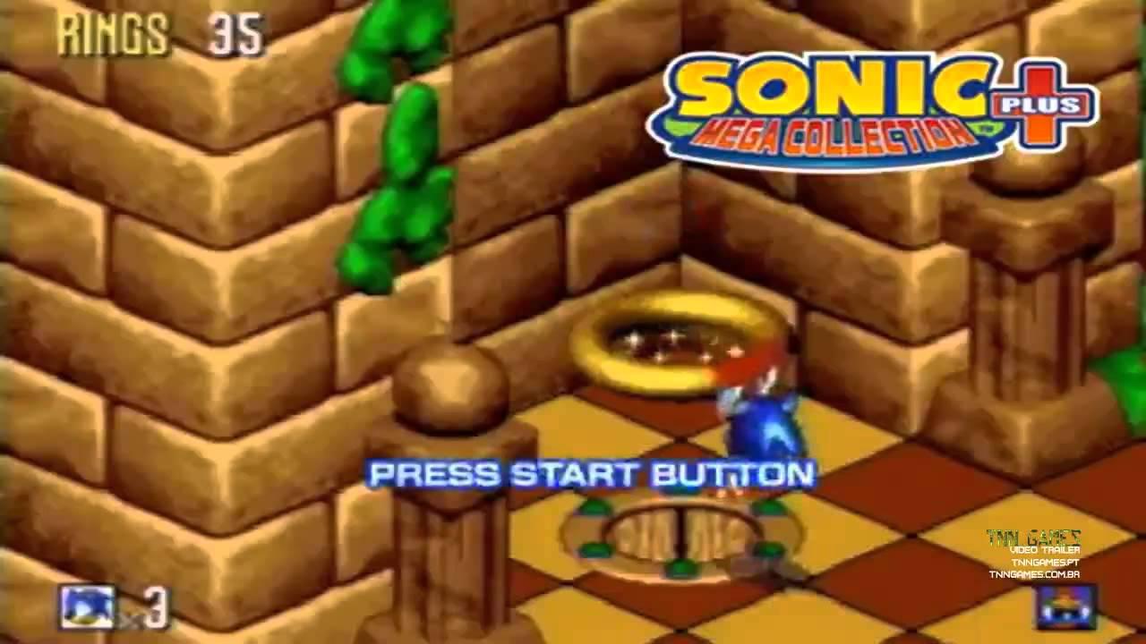 553e83e7859 PS2 SONIC Mega Collection Plus Playstation 2 Lastele (84021564) - Osta.ee