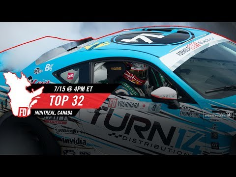 Network A Presents: Formula Drift Montreal - Main Event LIVE!