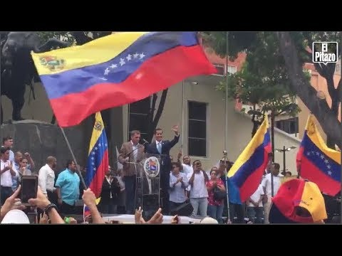 """Guaidó convocó a marcha el 1° de Mayo """"para lograr el cese de la usurpación"""""""