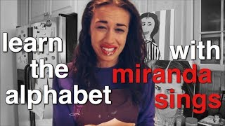 Learn the alphabet with Miranda Sings