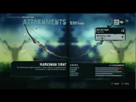 Far Cry 3 - Weapons and Locations Part 1