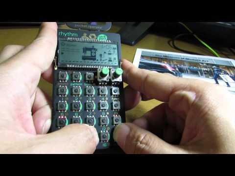 Pocket Operator PO-12 quick review