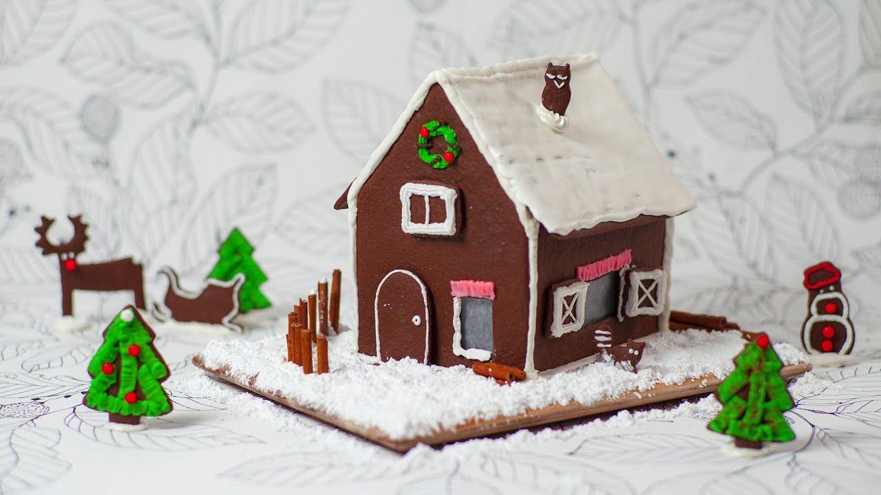 Rezept Weihnachten: Lebkuchenhaus Selber Machen