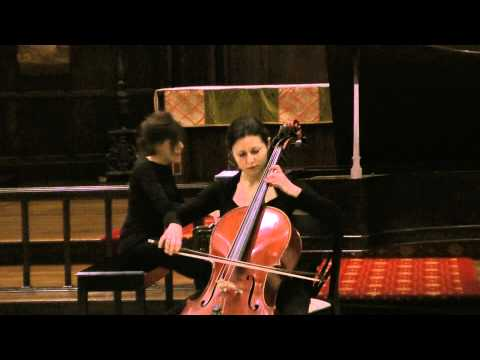 Daria Janssen (Titova) Tchaikovsky Nocturne Op.19 No.4 cello and piano concert 10/27/2010