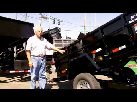Town and Country Truck/Trailer #DMP5x10: 2012 Snake River 5x10 Dump Trailer