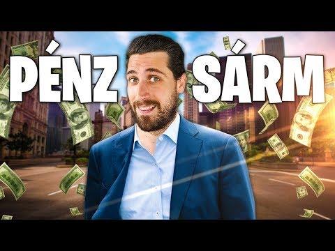 videocsevegés, ahol pénzt keresnek