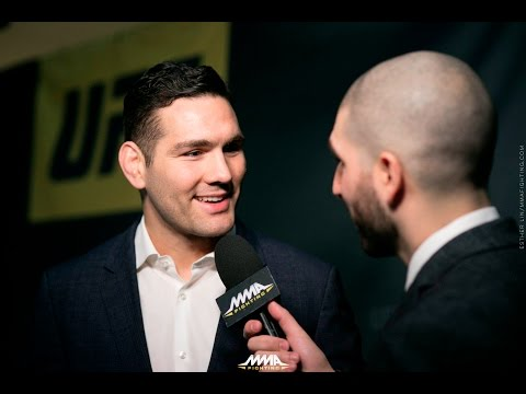 Chris Weidman Almost Moved Back Into Parents' Basement Before UFC 210