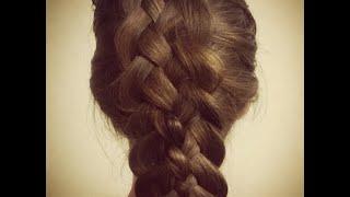 ПРИЧЕСКА:Коса из 5 прядей ★ Причёска самой себе, быстро и легко
