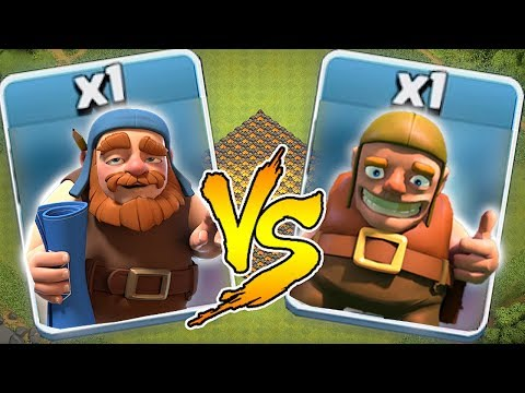 Builder VS. Builder Round 2 ☢Clash Of Clans☢ Troll Battle!!