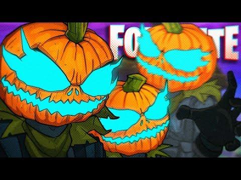 BEHOLD! NEW PUMPKIN HEAD SKINS! - Fortnite Battle Royale!