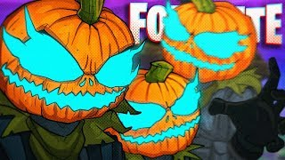 BEHOLD! NEW PUMPKIN HEAD SKINS! - Fortnite Battle Royale!