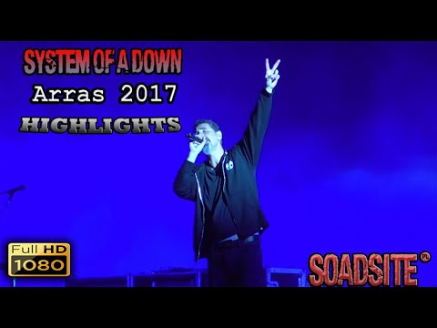 System Of A Down - Main Square Festival 2017, Arras, France Live Highlights