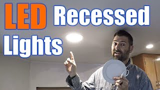 How To Install LED Recessed Lighting | THE HANDYMAN