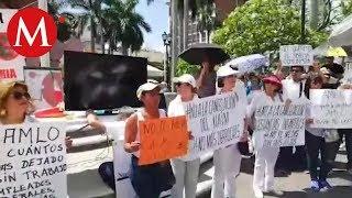 Marcha contra AMLO en Tampico
