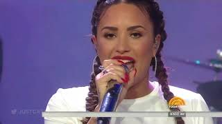 Demi Lovato - Sorry Not Sorry + Interview (Live on the TODAY Show) - October 5