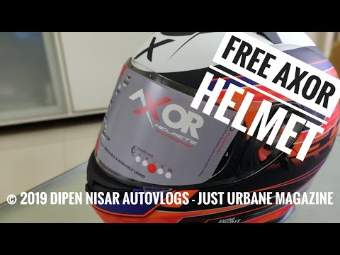 free-axor-stealth-helmet-|-just-urbane-magazine-|-unboxing-&-review-|-dipen-nisar-autovlogs