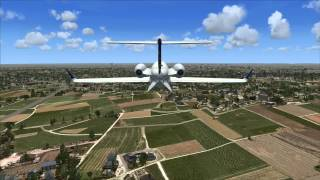 FSX:-  Scenery pack Ground Environment X (GeX) demonstration