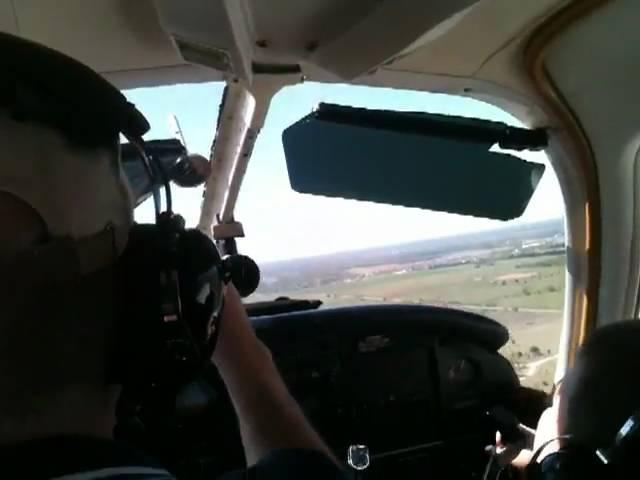 EAA Flight - Landing