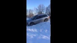 Ходовые испытания Audi Allroad