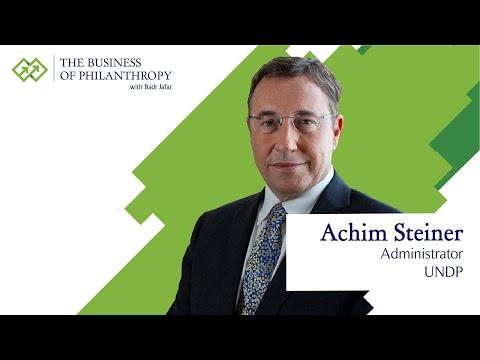 Achim Steiner; A Conversation with Badr Jafar