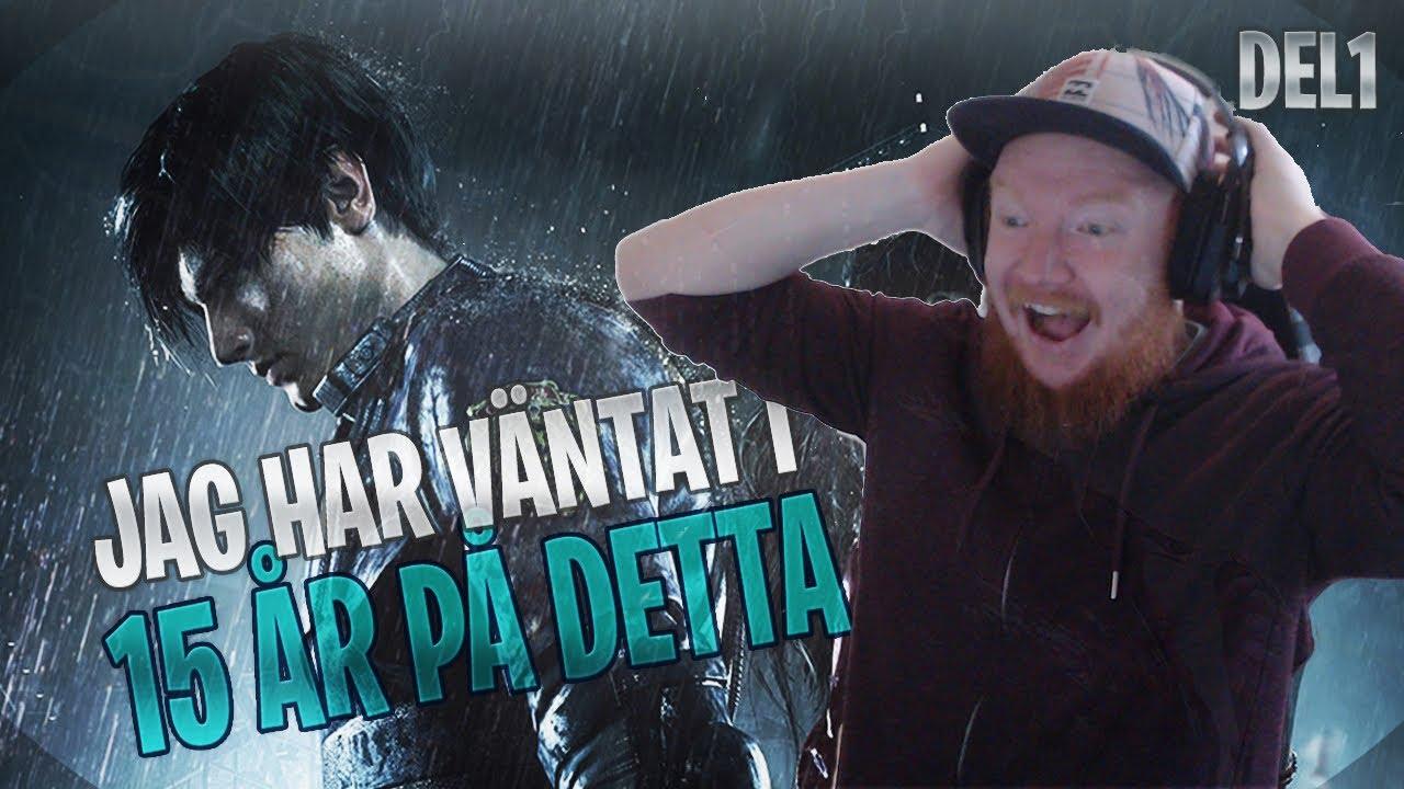 DETTA SPEL HAR JAG VÄNTAT I 15 ÅR! // RESIDENT EVIL 2 REMAKE PLAYTHROUGH - DEL 1