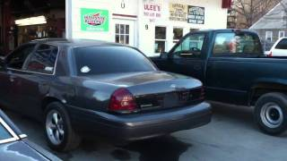 cammed crown victoria 5 speed swap first start up
