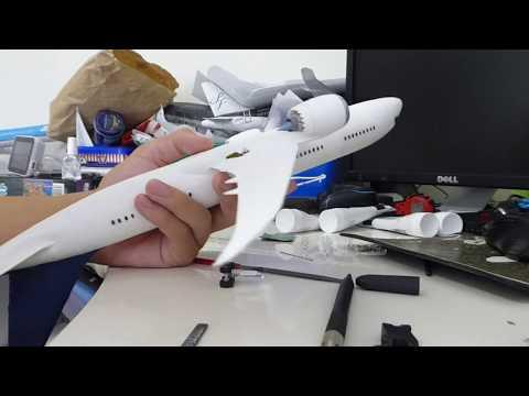 787 Model Build Video Part 3