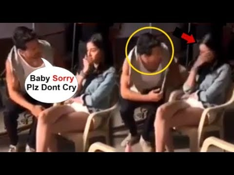 Ananya Pandey CRYING After Tiger Shroff Fights & Shouts At Her On The Sets Of Student Of The Year 2