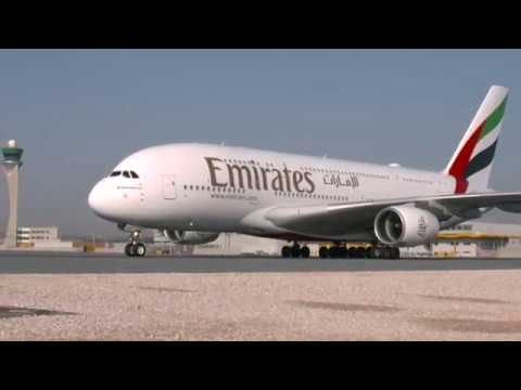 The world's shortest Airbus A380 flight | Dubai to Doha | Emirates Airline