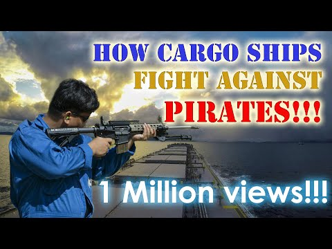 How our Ship Prepares Against Pirate Attacks | Seaman VLOG 0