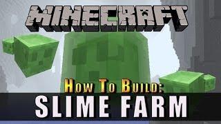 Minecraft :: How To Build :: Slime Farm :: Xbox, Playstation + PC