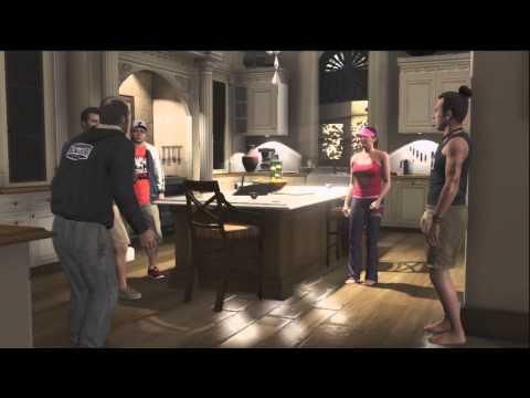 GTA V Michael meets Trevor