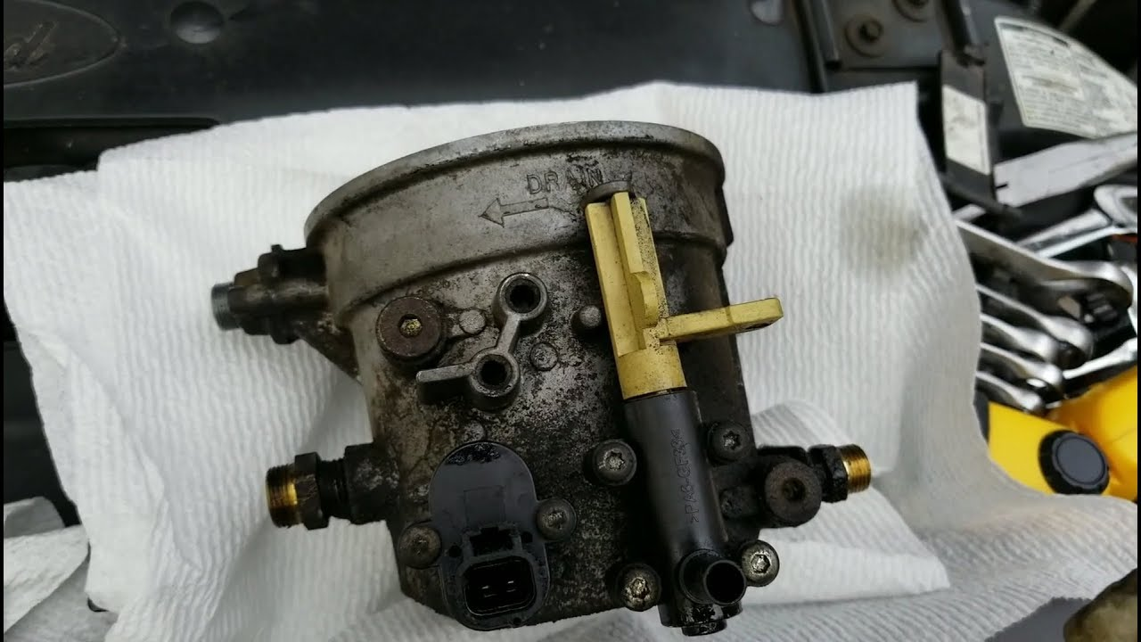 hight resolution of part 1 1999 to 2003 ford 7 3l diesel fuel leak interior smell fuel filter bowl rebuild save