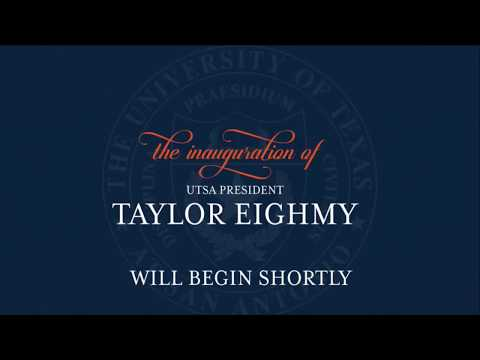 The Inauguration of President Taylor Eighmy – March 20, 2018