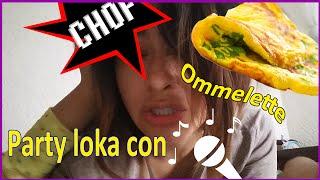 Omelette y party loca con karaoke