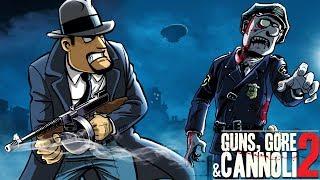 #1 Спасаем Винни Игра как мультик про бандитов прохождение Guns, Gore & Cannoli 2
