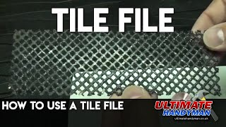 how to use a tile file