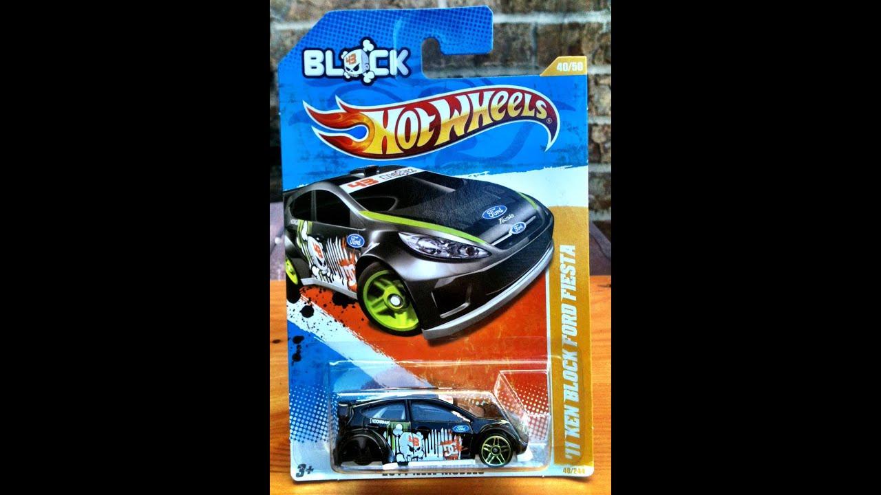Ken Block Ford Fiesta Hot Wheel Error 2011 New Models