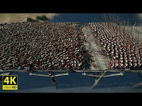 300 SPARTAN PIKEMEN vs 3000 ROYAL SPARTANS - Total War: ROME 2 (4K Gameplay)