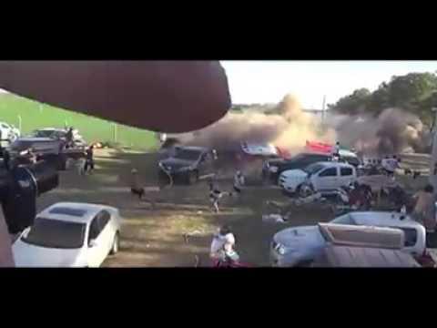El peor de todos: salió a la luz un nuevo video del accidente que causó la china Meiling