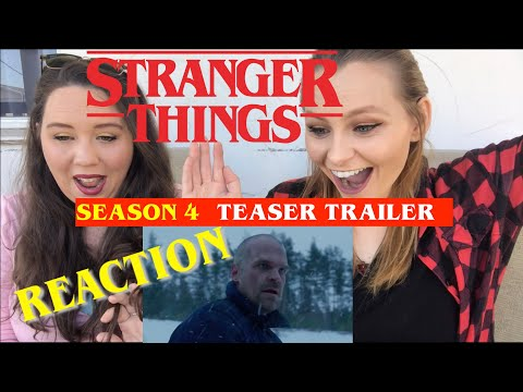 Stranger Things 4 | From Russia With Love…TRAILER REACTION